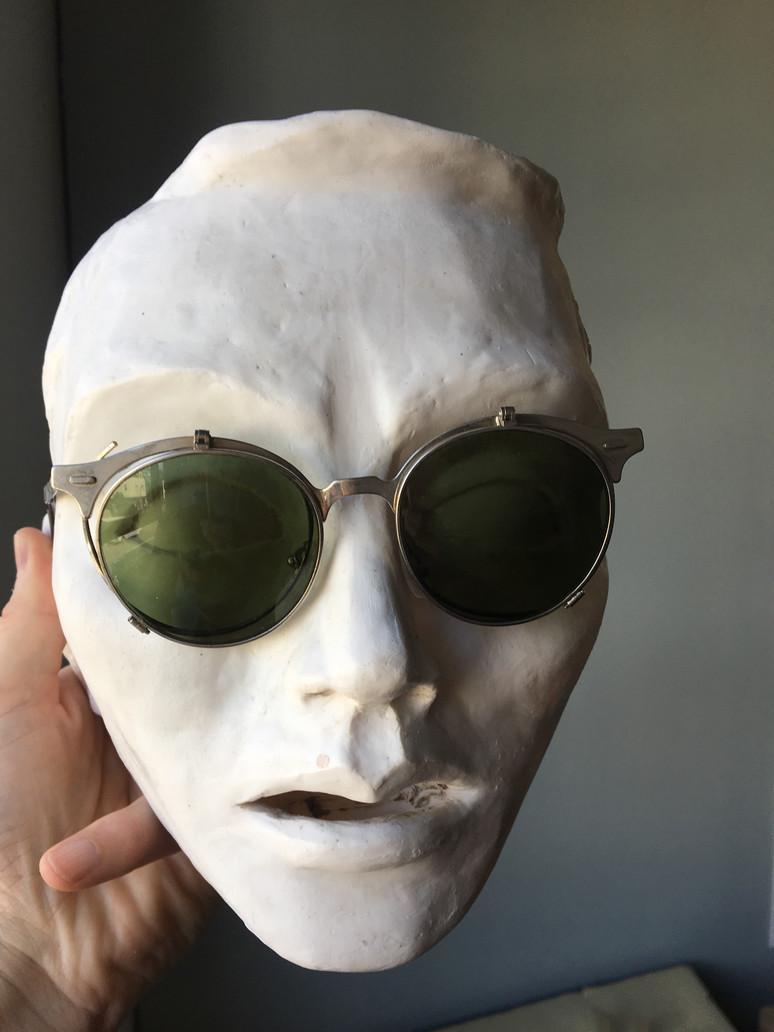 Peter as Andy Warhol...