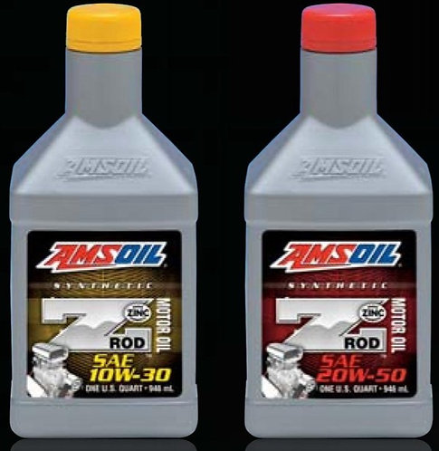 Amsoil Z-ROD 10W30 ou 20W50 - 946ml