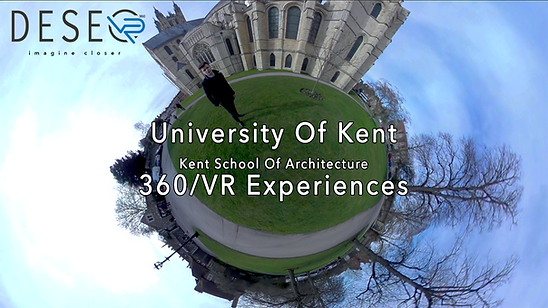 Kent School of Architecture 360 video VR experience