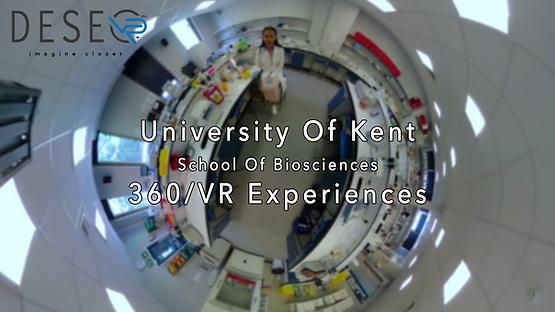 Kent School of Biosciences 360 video VR experience