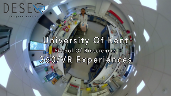 Kent School of Biosciences 360 video VR experience