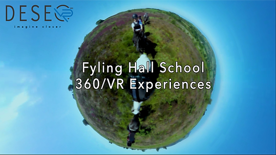 Fyling Hall School 360 video VR experience
