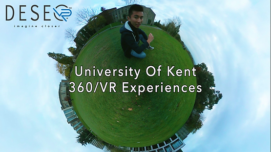University of Kent 360 video VR experience