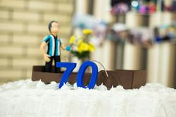 Organização aniversário 70 anos