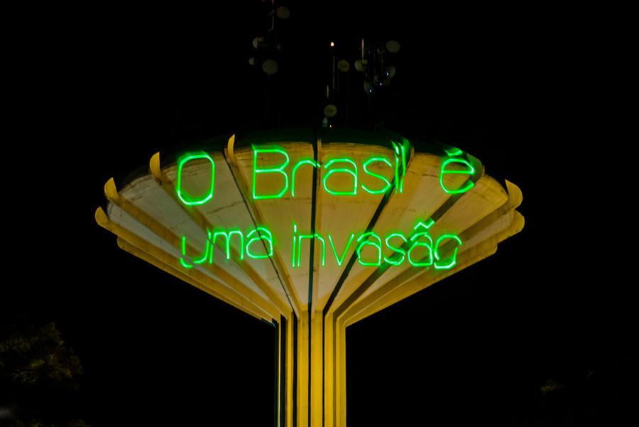 O Brasil é uma invasão