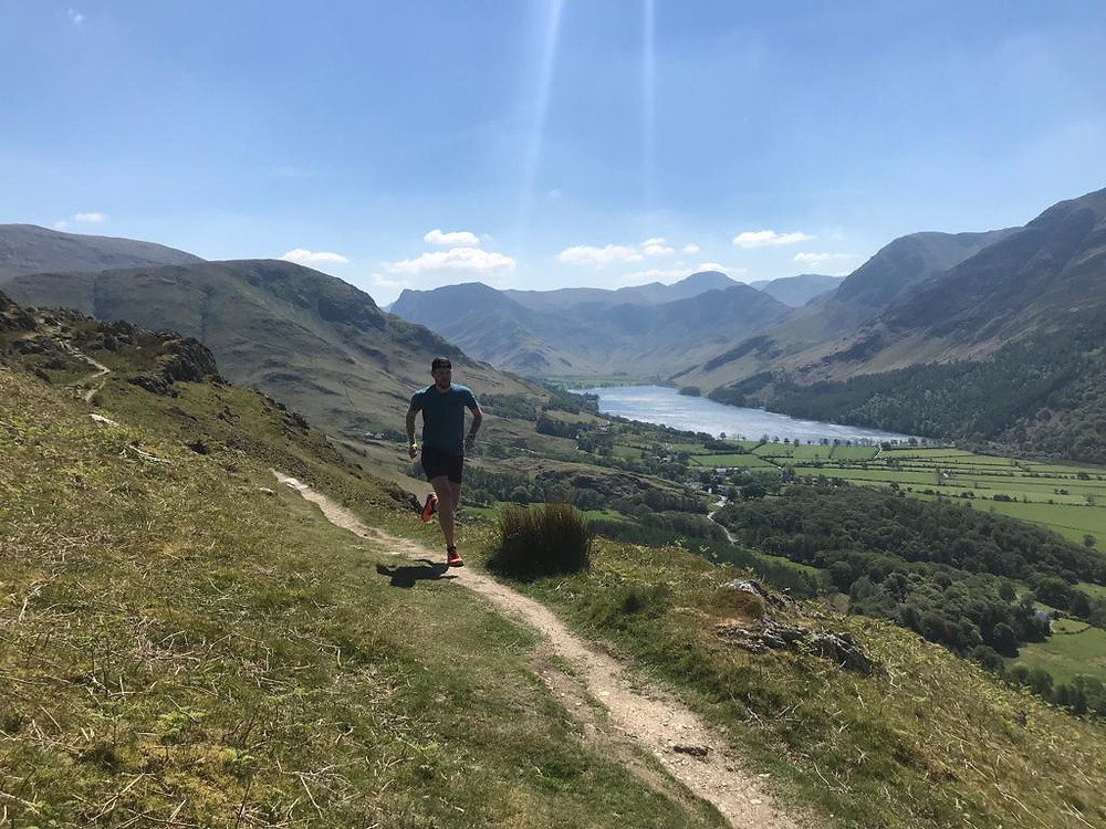 DCH Coach Darren Running in the Lake District