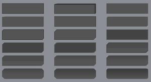 gray button sprites