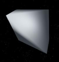 Adjacent corners removed