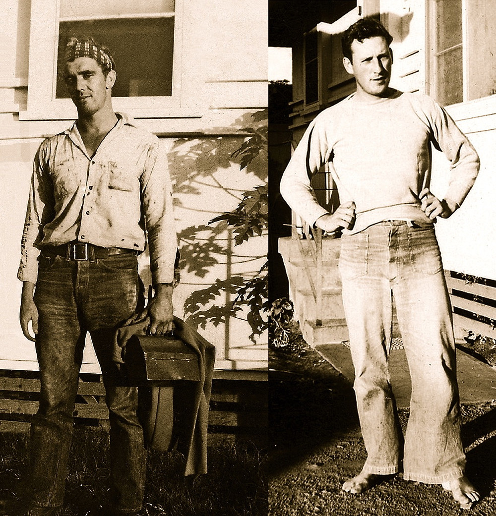 Bill Adams and Louis Otto. Image courtesy of David Jessup