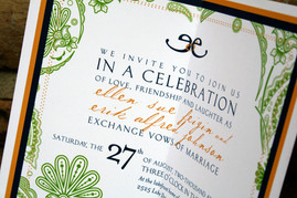 Wedding Invitation – Inside