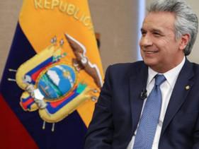 """Moreno dice que """"al parecer"""" hubo un acuerdo tácito de Correa con el narcotráfico"""