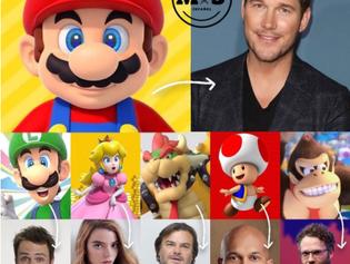 Ya hay elenco para la película animada de Mario Bros