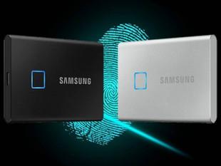 T7 Touch: el disco duro SSD de Samsung que se desbloquea con tu huella digital
