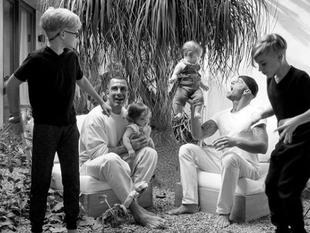 ¡Sorpresa! Ricky Martin publica por primera vez foto de su familia al completo