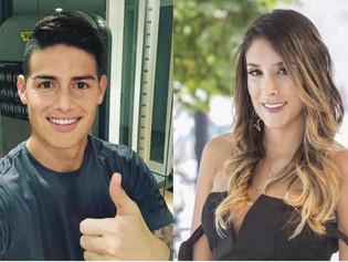 """James Rodríguez mostró """"la mejor compañía del mundo"""" y Daniela Ospina a su """"alma geme"""