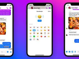 Facebook estrenó Soundmojis, emojis con sonido para Messenger