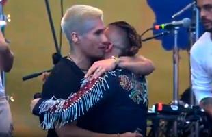 Chyno y Nacho se unieron para cantar en el Venezuela Aid Live