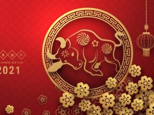 2021, año del buey, según el horóscopo chino
