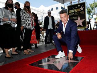 """""""Jamás soñé esto"""": Alejandro Sanz ya tiene su estrella en el Paseo de la Fama de Hollywood"""