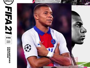 Kylian Mbbapé será la nueva portada de FIFA 21