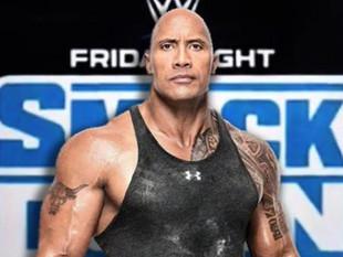 La leyenda de la lucha libre Dwayne Johnson 'The Rock' regresa a WWE