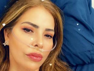 Gloria Trevi preocupó a sus fanáticos con foto desde el hospital