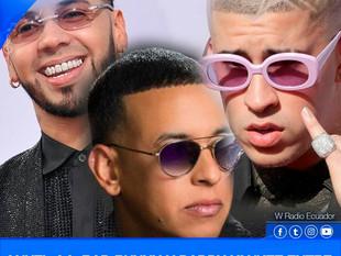 Anuel AA, Bad Bunny y Daddy Yankee entre los más populares en YouTube.