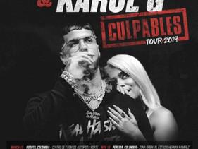 Anuel AA y Karol G incluyen a Ecuador para su tour 2019