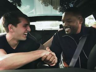 Will Smith sorprende como taxista a los ciudadanos en Miami por Bad Boys