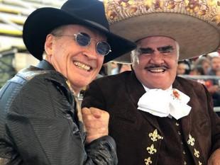 Emmanuel y Vicente Fernández tienen proyecto musical en puerta