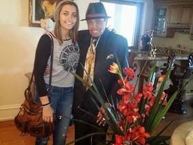 Paris Jackson cumplió y estuvo hasta el fin con su abuelo Joe Jackson