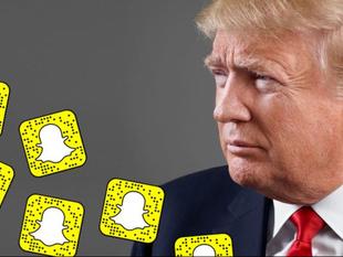 Snapchat censura permanentemente cuenta de Donald Trump