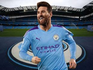 Manchester City pagaría $596 millones a Lionel Messi