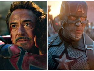 Así se despidieron Robert Downey Jr. y Chris Evans de 'Vengadores: Endgame'