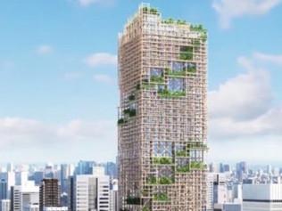 Japón proyecta el rascacielos de madera más alto del mundo para 2041