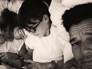 Hijos de Ricky Martin ya se han adaptado a la presencia de Jwan Josef