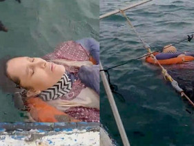 Encuentran flotando en el mar a una mujer desaparecida hace dos años