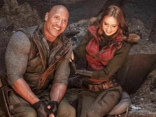 Dwayne Johnson regresa a filmar 'Jumanji 3'