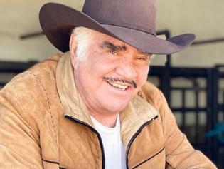 Vicente Fernández Jr. desmintió que su padre haya sufrido una muerte cerebral