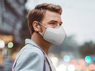 Crearon una mascarilla electrónica inteligente que purifica el aire