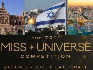 Israel acogerá, por primera vez, el Miss Universo 2021