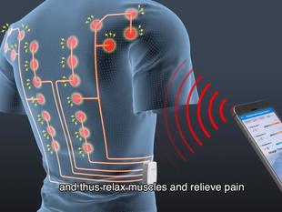 Cómo es la camiseta inteligente para aliviar los dolores de espalda