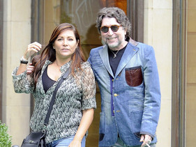 Joaquín Sabina contrae matrimonio en Madrid con Jimena Coronado