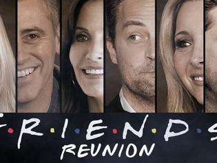 Terminó el rodaje de la reunión especial de 'Friends'; se verá por HBO Max
