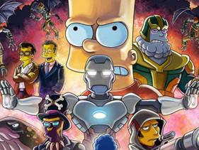 """Los Simpsons y Avengers: Endgame se unen en un """"crossover"""" épico… que contará con invitados especial"""