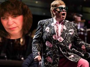 Ex esposa de Elton John lo demanda por US$3.8 millones
