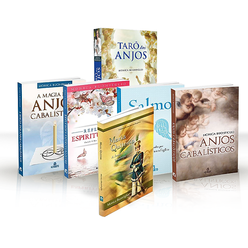Tarot dos Anjos, Anjos, Salmos, Magia, Reflexões e Maria Quitéria (brinde)