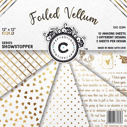 Showstopper Series Vellum- Gold