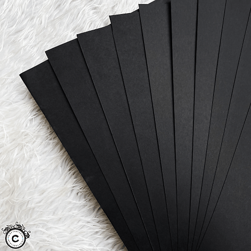 Cardstock : Real Black