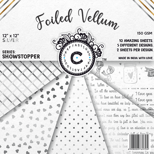 Showstopper Series Vellum- Silver